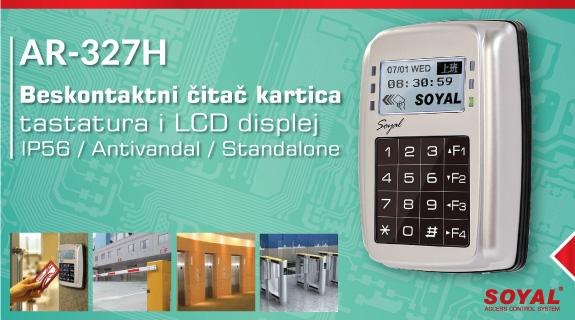 Soyal AR327H antivandal čitač kartica